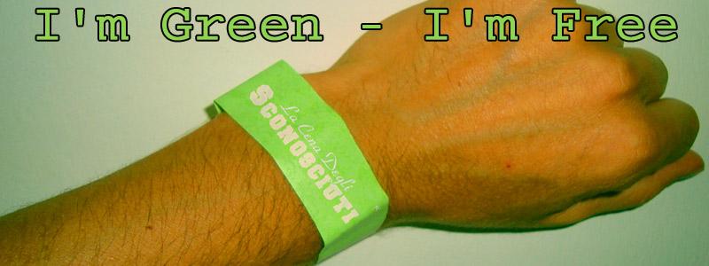 i am green i am free
