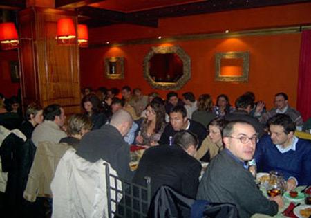 La Cena con 88 persone