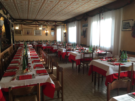 cena degli sconosciuti ristorante alla fornace venezia