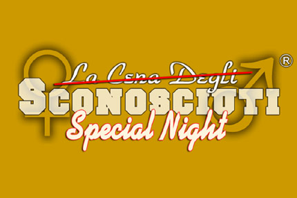 sconosciuti special night milano con social game