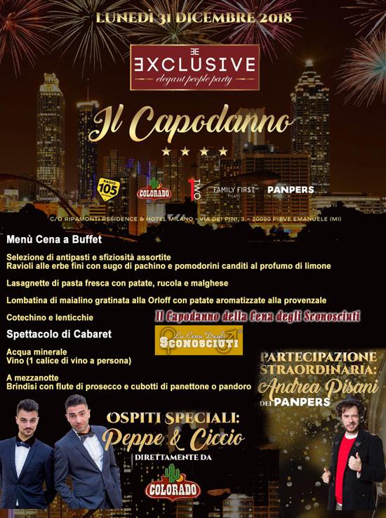 31 Dicembre 2018: Capodanno per single a Milano