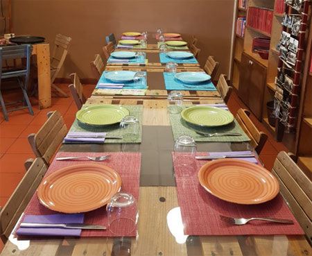 cena degli sconosciuti roma tuma bistrot