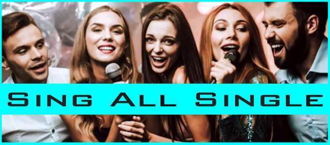 Sing All Single